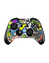 Fashion Prints And Patterns Pair Of Vinyl Decal Controller Sticker Skins For Xbox One (Bomb Graffiti)