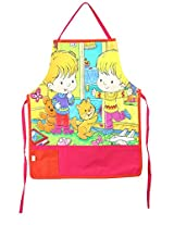 Digitally Printed Kids Apron For 1-5 Years Old,Cotton,18x12 Inch,300TC,KAPS-177