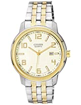 Citizen Analog Champagne Dial Men's Watch - BI0994-55P