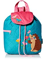 Stephen Joseph Quilted Backpack, Hedgehog