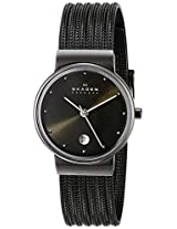 Skagen Ancher Analog Grey Dial Women's Watch - 355SMM1