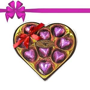 Chocholik's Classic Heart Shape Nicely Decorated Chocolates