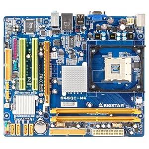 【クリックで詳細表示】BIOSTAR Socket478 MicroATXマザーボード 945GC-M4