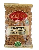 Miltop California Almonds, 250g