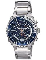 Nautica Sports Analog Blue Dial Men's Watch - NTC16655G