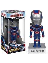 Funko Marvel Iron Man Movie 3: Iron Patriot Wacky Wobbler