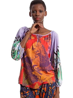 Custo Camiseta Juli Bruce (Lila)