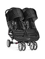 Baby Jogger City Mini Double Stroller, Black/Gray