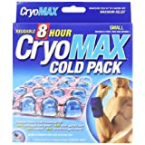 """Cryo-Max Reusable Cold Pack, Small, 6""""x6"""", 1-Count Boxes (Pack Of 2)"""