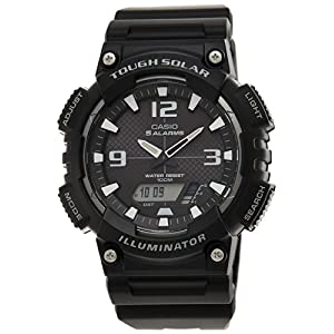 Casio Youth Analog-digital Black Dial Men's Watch - AQ-S810W-1AVDF (AD172)