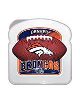 ICUP NFL Denver Broncos Sandwich Box, Multicolor