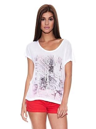 Springfield Camiseta C2 Gráfica Ny (Blanco)
