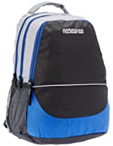 American Tourister Code Black and Grey Casual Backpack (R51 (0) 29 008)