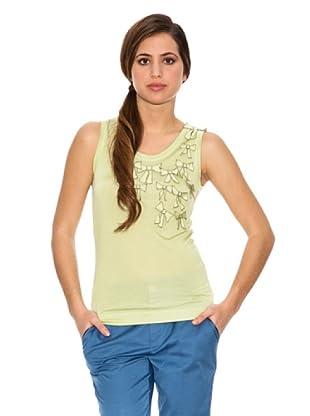 Jota + Ge Camiseta Nairobi (Verde Claro)