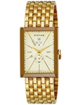 Titan Regalia Analog Beige Dial Men's Watch - NC1523YM02