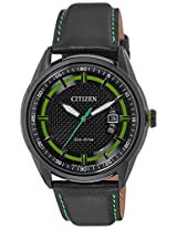 Citizen Eco-Drive Analog Black Dial Men's Watch AW1184-05E