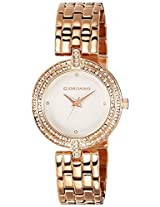 Giordano Analog White Dial Women's Watch - F4002-44