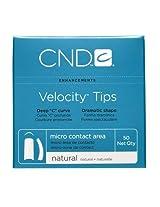 Creative Nail Tips Velocity False Nails, Natural No.9