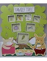 Dear Bunny Family Tree Photo Frame