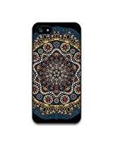 Jagzee Turkish Black Floral Mandala Matte Case for Iphone 5s