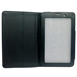Black Faux Leather Flip Case Cover For Lenovo A3000 7 inch Tablet