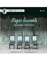 Kagel: String Quartets