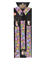 Tiekart Mens Y-Back Suspender (Sus220_Multi-Coloured)