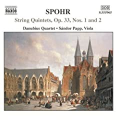 Spohr:String Quintets Vol.1