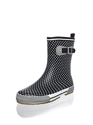 Chooka Women's Classy Classic Rain Boot (Black)