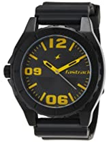 Fastrack OTS Sports Analog Black Dial Men's Watch - NE9462AP04J