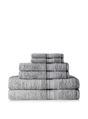 Terrisol MicroCotton Aertex 6-Piece Towel Set, Steal