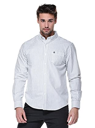 Timberland Camisa Claremont (Azul/Blanco)