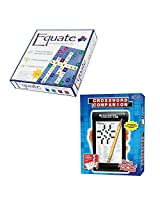 Equate Equation Thinking Game & Crosswords Companion 2 Piece Gift Bundle Ages 8+