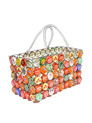 Mbare Bottle Cap Tote (Multi)