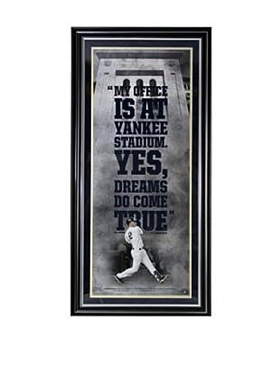 Steiner Sports Memorabilia Derek Jeter 'Yankee Stadium is My Office' Framed Collage