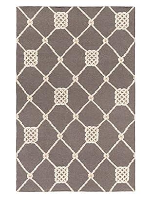 Surya Frontier Rug, Charcoal/Ivory/Beige, 5' x 8'