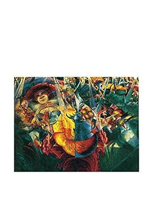 LegendArte  Wandbild Das Lachen von Umberto Boccioni
