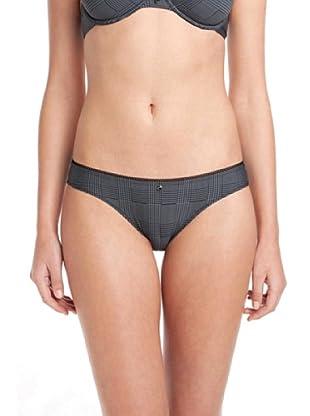 Esprit Bodywear Damen Slip X0033/Destiny, Kariert (Schwarz (04))