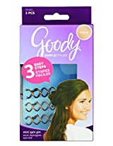 Goody Simple Styles Mini Spin Hair Pin, Assorted Colors, 3-count (1940931)