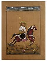 eCraftIndia Mughal Emperor on Horse PPAP067
