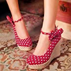 Aiva 5Th Avenue Collection Red - Wedges