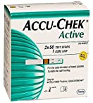 Accu-Chek Active Test Strip Box -100 Strips