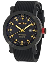 red line Men's RL-18001-BB-01YL Compressor Collection Watch