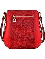 Hidesign Nakasu 03 Women's Sling Bag (Red)