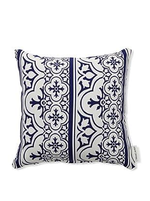 Steve & James Outdoor Patterned Throw Pillow (Blue)