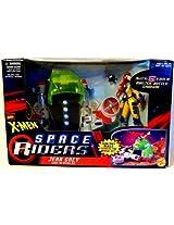JEAN GREY & LIGHT-UP HYPER JET X-Men Space Riders MARVEL COMICS Action Figure & Vehicle