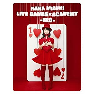 【クリックで詳細表示】Amazon.co.jp | NANA MIZUKI LIVE GAMES×ACADEMY-RED- [Blu-ray] DVD・ブルーレイ - 水樹奈々