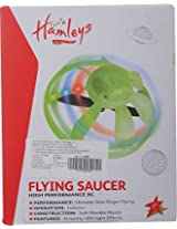 Hamleys  Remote Controlled Flying Saucer, Green (Color May Vary)