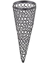 Craftos Impex Iron Lantern (13 cm x 13 cm x 33 cm, Black)