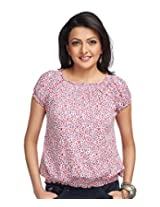 Enah Womens Cotton Tops ,Multi-Coloured ,X-Large